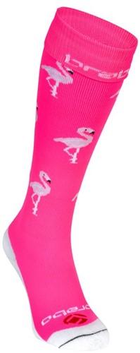 Brabo Socks Flamingo Neon Pink 31-35 (20/21)