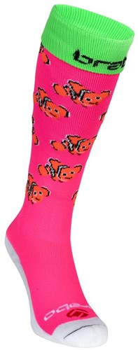 Brabo Socks Fishes Pink/Orange 36-40 (20/21)