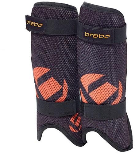Brabo F3 JR Mesh LW Shinguard black/orange XXS