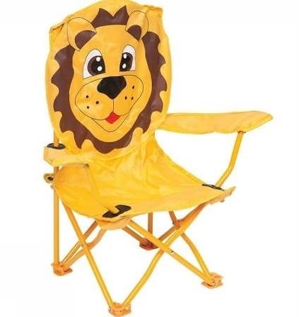 Bo-Camp Kinderstoel Leeuw Geel