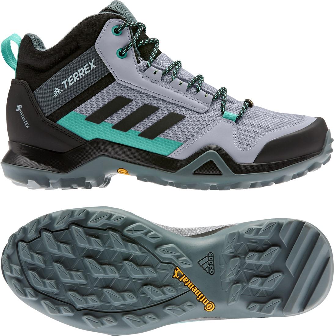 Adidas Terrex AX3 Mid GTX W silver/black/mint 40 2/3 (UK 7)