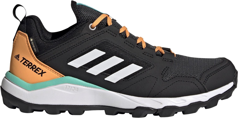 Adidas Terrex Agravic TR GTX W black/white/orange 39 1/3 (UK 6)