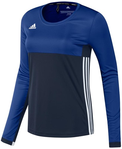 Adidas T16 Climacool L/S Tee W navy/royal XS (18/19)