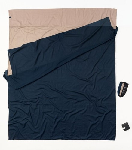 Cocoon TravelSheet Doublesize Egyptian Cotton khaki/tuareg