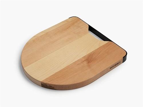 Barebones Maple & Steel Cutting Board