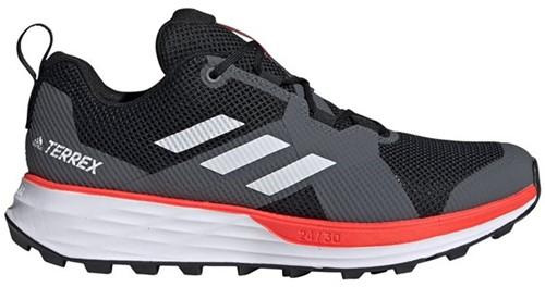 Adidas Terrex Two Cblack/Ftwwht/Solred 41 1/3 (UK 7.5)