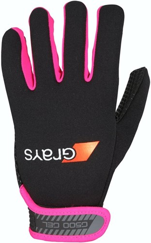 Grays G500 Gel Gloves black/fluo pink M (19/20)