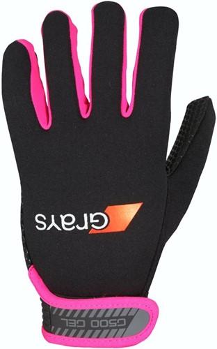 Grays G500 Gel Gloves black/fluo pink S (19/20)