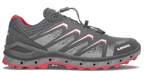 Lowa Aerox GTX Lo graphite/red 43 1/2 (UK 9)