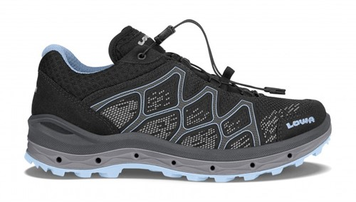 Lowa Aerox GTX Lo Ws black/ice-blue 42 (UK 8)