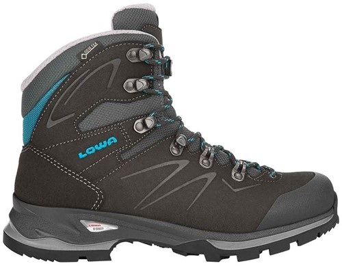 Lowa Badia GTX Ws anthracite/blue 39 1/2 (UK 6)