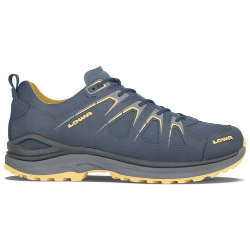 Lowa Innox Evo GTX Lo steel-blue/mustard 44 1/2 (UK 10)