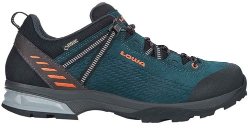 Lowa Ledro GTX Lo petrol/orange 46 (UK 11)