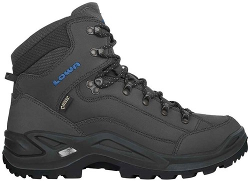 Lowa Renegade GTX Mid anthracite/steel-blue 42 (UK 8)