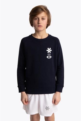 Osaka Deshi Sweater Warpy navy melange 12/14 (20/21)