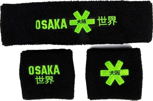 Osaka Sweatband Set 2.0 black